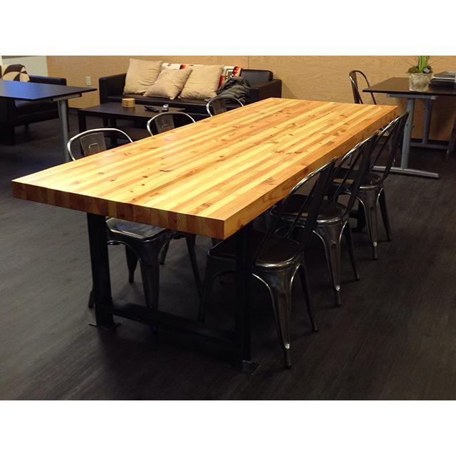 break room table grainfed art