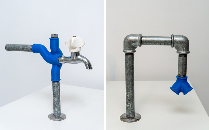 3d Printed Pipe Connectors Awesome Practical Use